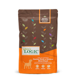 NATURE'S LOGIC Nature's Logic Duck & Salmon Meal Feast Dog Food 26.4lb