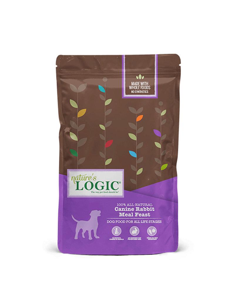 NATURE'S LOGIC Nature's Logic Rabbit Meal Feast Dog Food 26.4lb