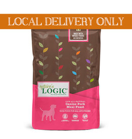 NATURE'S LOGIC Nature's Logic Pork Meal Feast Dog Food 26.4lb