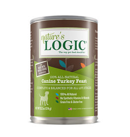NATURE'S LOGIC Nature's Logic Turkey Feast Canned Dog Food 13.2oz
