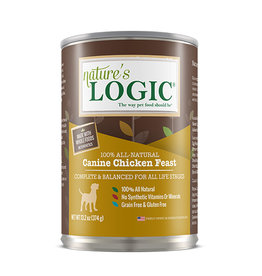 NATURE'S LOGIC Nature's Logic Chicken Feast Canned Dog Food 13.2oz