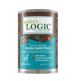 NATURE'S LOGIC Nature's Logic Lamb Feast Canned Dog Food 13.2oz