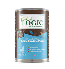 NATURE'S LOGIC Nature's Logic Sardine Feast Canned Dog Food 13.2oz