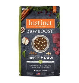 NATURES VARIETY Instinct Raw Boost Venison Dog Food