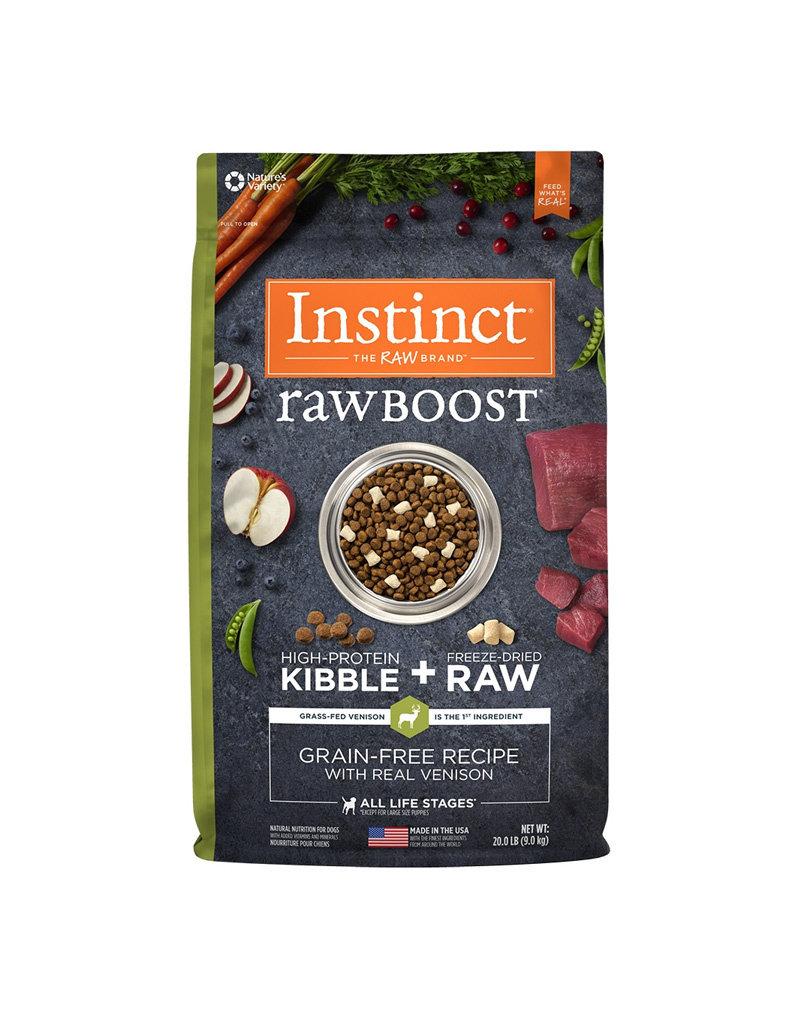 NATURES VARIETY Instinct Raw Boost Venison Dog Food