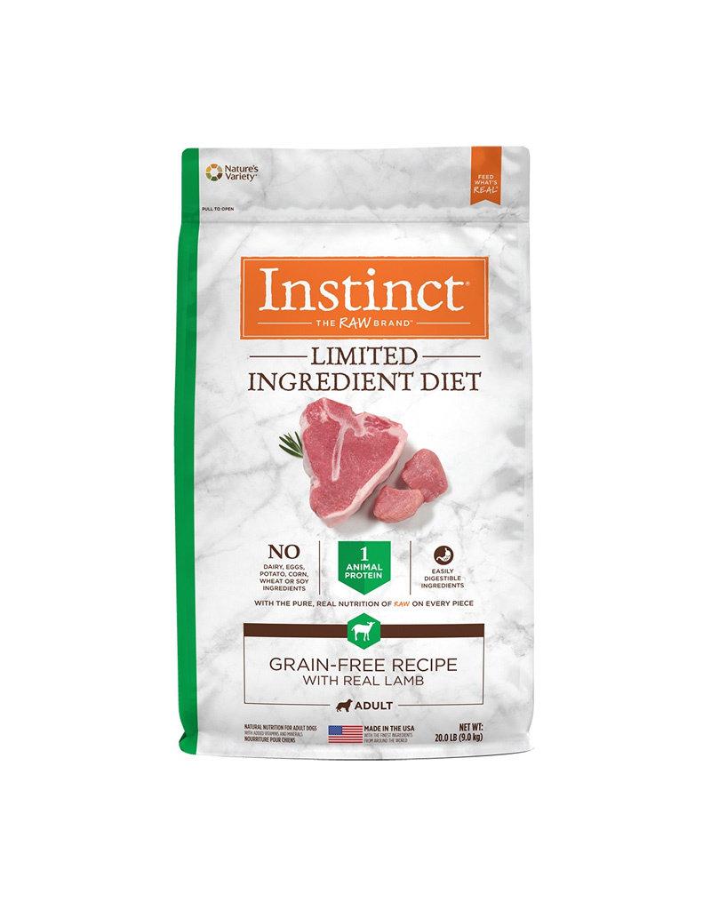 NATURES VARIETY Instinct LID Lamb Dog Food
