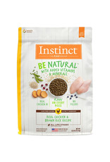 NATURES VARIETY Instinct Be Natural Chicken & Brown Rice Dog Food