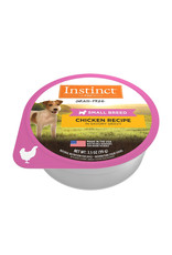 NATURES VARIETY Instinct Original Small Breed Chicken Cups 3.5oz (Case of 12)