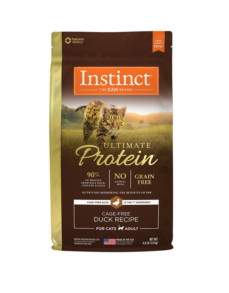 NATURES VARIETY Instinct Ultimate Protein Duck Cat Food 4lb