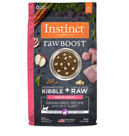 NATURES VARIETY Instinct Raw Boost Indoor Rabbit Cat Food 4.5lb