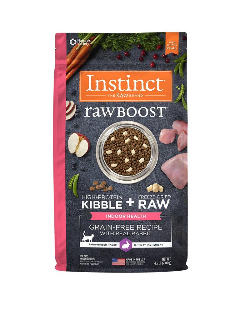 NATURES VARIETY Instinct Raw Boost Indoor Rabbit Cat Food 4.5lb