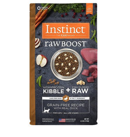 NATURES VARIETY Instinct Raw Boost Duck Cat Food 4.5lb