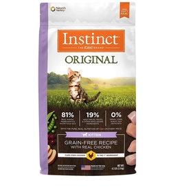 NATURES VARIETY Instinct Original Kitten Food 4.5lb