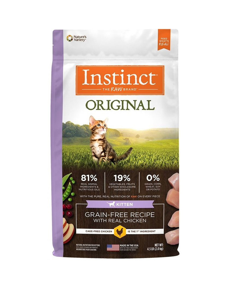 NATURES VARIETY Instinct Original Kitten Food 4.5lb