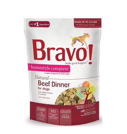 BRAVO Bravo Freeze Dried Beef Dinner for Dogs 6lb