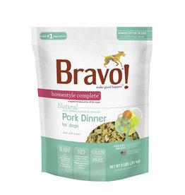 Bravo Freeze Dried Pork Dinner for Dogs 6lb
