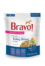 BRAVO Bravo Freeze Dried Turkey Dinner for Dogs 6lb