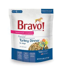 Bravo Freeze Dried Turkey Dinner for Dogs 6lb