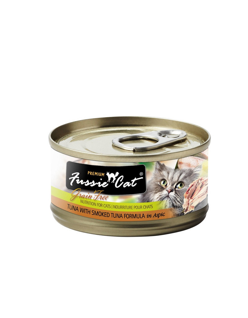 FUSSIE CAT Fussie Cat Premium Smoked Tuna in Aspic 2.82oz  (Case of 24 Cans)