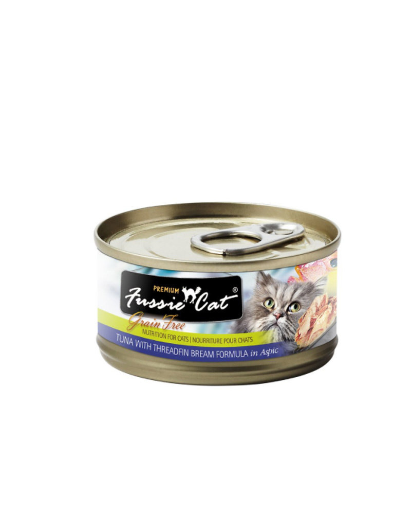 FUSSIE CAT Fussie Cat Premium Tuna & Threadfin Bream in Aspic 2.82oz (Case of 24 Cans)