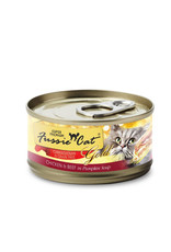 FUSSIE CAT Fussie Cat Gold Chicken & Beef in Pumpkin  2.82oz  (Case of 24 Cans)