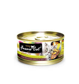 FUSSIE CAT Fussie Cat Premium Tuna & Clams  in Aspic 2.82oz