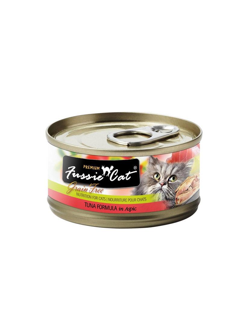 FUSSIE CAT Fussie Cat Premium Tuna in Aspic 2.82oz  (Case of 24 Cans)