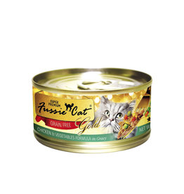 FUSSIE CAT Fussie Cat Gold Chicken & Vegetables in Gravy 2.82oz