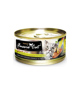 FUSSIE CAT Fussie Cat Premium Tuna & Mussels in Aspic 2.82oz