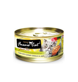 FUSSIE CAT Fussie Cat Premium Tuna & Shrimp in Aspic 2.82oz Cat Food