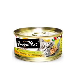FUSSIE CAT Fussie Cat Premium Tuna & Anchovies in Aspic 2.82oz