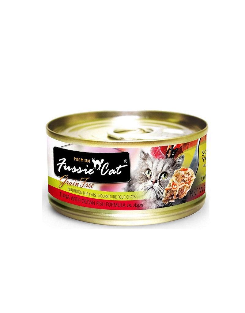 Fussie Cat Premium Tuna & Oceanfish in Aspic 2.82oz (Case of 24 Cans)