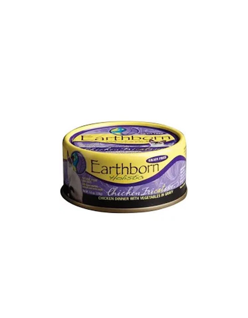 EARTHBORN Earthborn Chicken Fricatssee 5.5oz Canned Cat Food (Case of 24)
