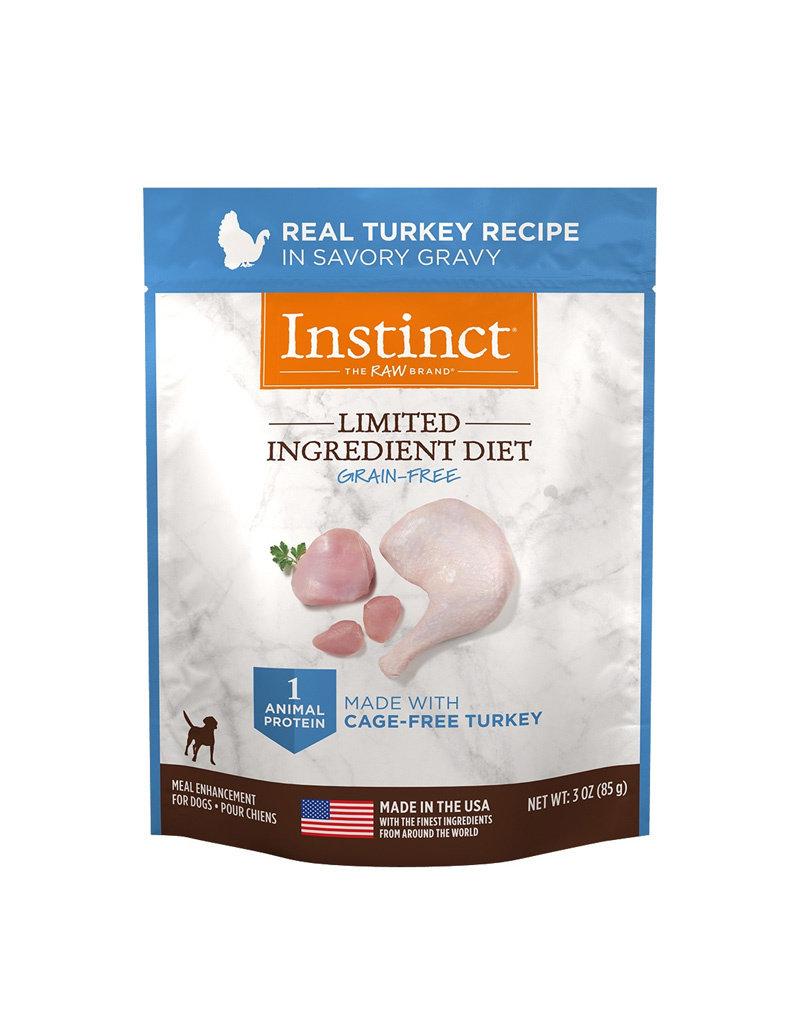 NATURES VARIETY Instinct LID Turkey Dog Food Pouch 3oz