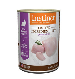 NATURES VARIETY Instinct LID Rabbit Canned Dog Food 13.2oz