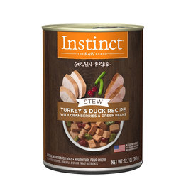 NATURES VARIETY Instinct Stews Turkey & Duck Cans for Dogs 12.7oz