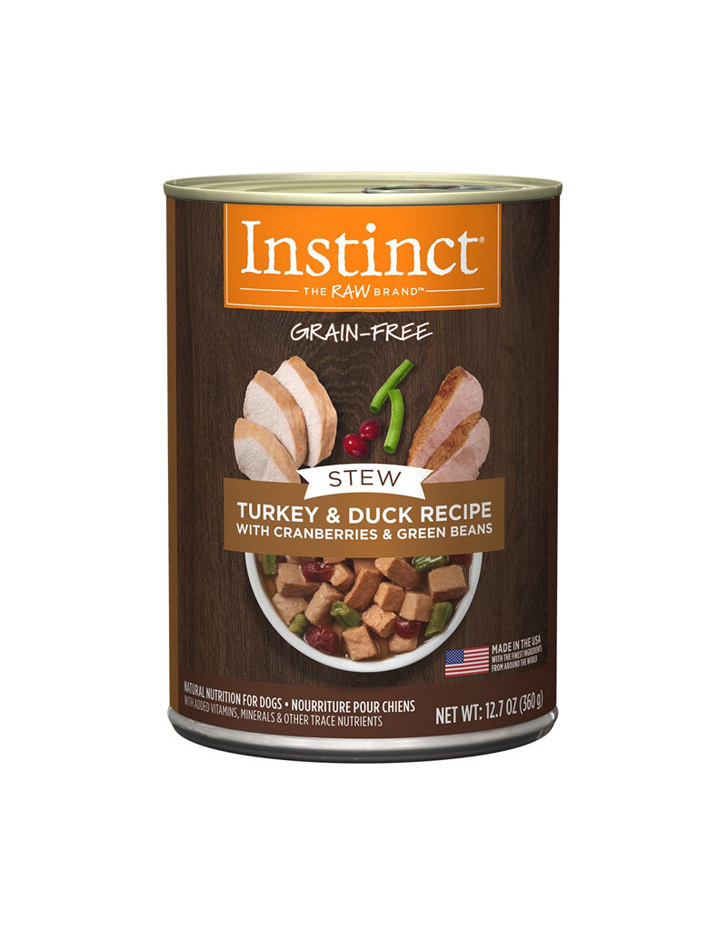 NATURES VARIETY Instinct Stews Turkey & Duck Cans for Dogs 12.7oz (Case of 6)