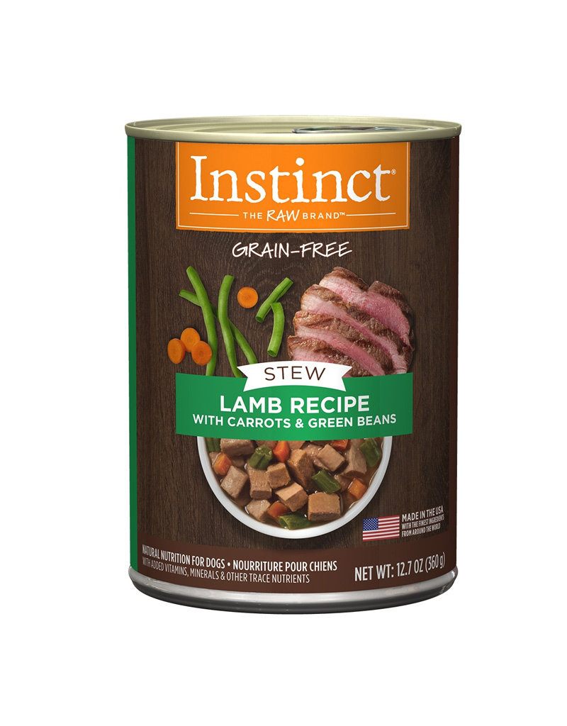 NATURES VARIETY Instinct Stews Lamb Cans for Dogs 12.7oz (Case of 6)