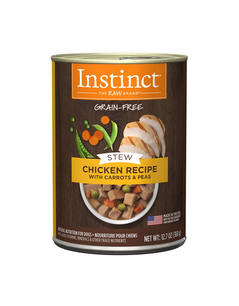NATURES VARIETY Instinct Stews Chicken Cans for Dogs 12.7oz (Case of 6)