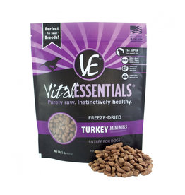 VITAL ESSENTIALS Vital Essentials Freeze Dried Turkey Nibs for Dogs