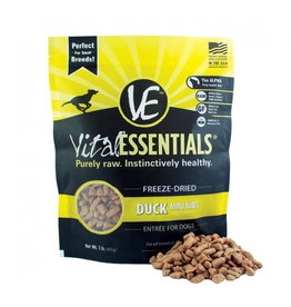 VITAL ESSENTIALS Vital Essentials Freeze Dried Duck Nibs for Dogs