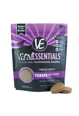 VITAL ESSENTIALS Vital Essentials Freeze Dried Mini Turkey Patties for Dogs 1lb
