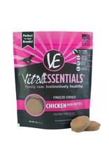 VITAL ESSENTIALS Vital Essentials Freeze Dried Mini Chicken Patties for Dogs 1lb