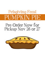 BAG OF BONES BARKERY Petsgiving Pies Pumpkin