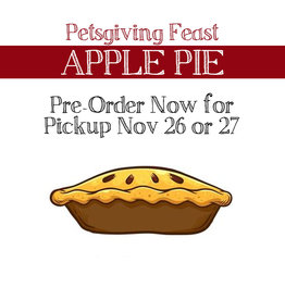 BAG OF BONES BARKERY Petsgiving Pies Apple