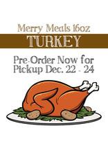 BAG OF BONES BARKERY Merry Meals Turkey 16oz