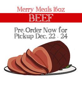 BAG OF BONES BARKERY Merry Meals Beef 16oz