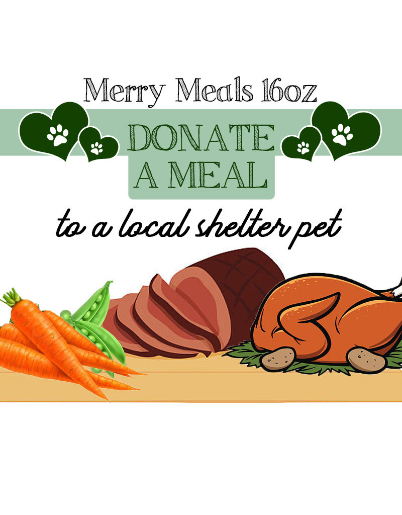 BAG OF BONES BARKERY Merry Meals Donate A Meal 16oz