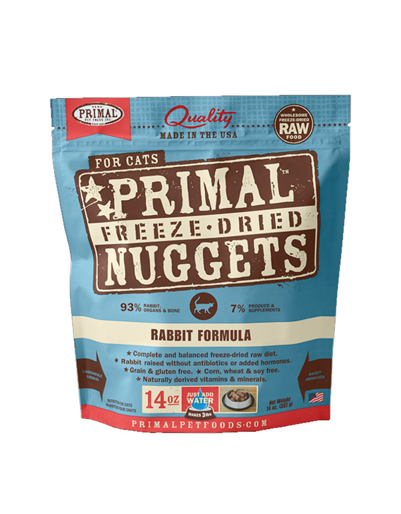 Primal Freeze Dried Rabbit Nuggets for Cats