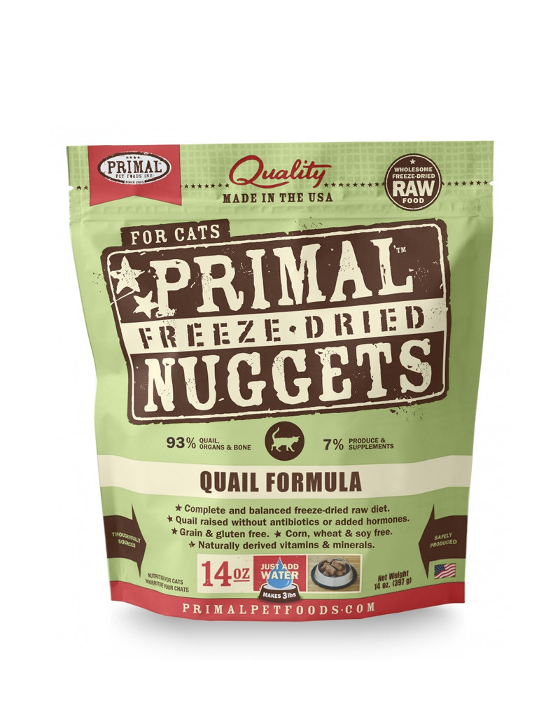 Primal Freeze Dried Quail Nuggets for Cats